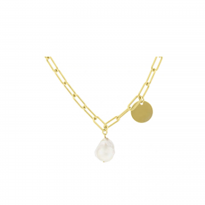 ABYB Baroque Pearl Pendant Necklace