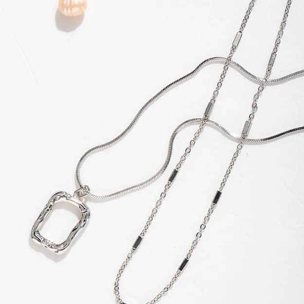 Abyb Charming Art Frame Necklace 04