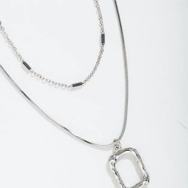 Abyb Charming Art Frame Necklace 07