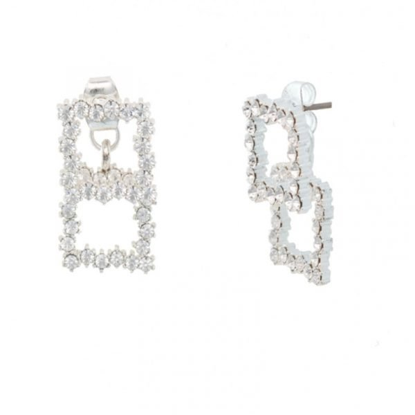 Abyb Squared Diamond Earrings V4