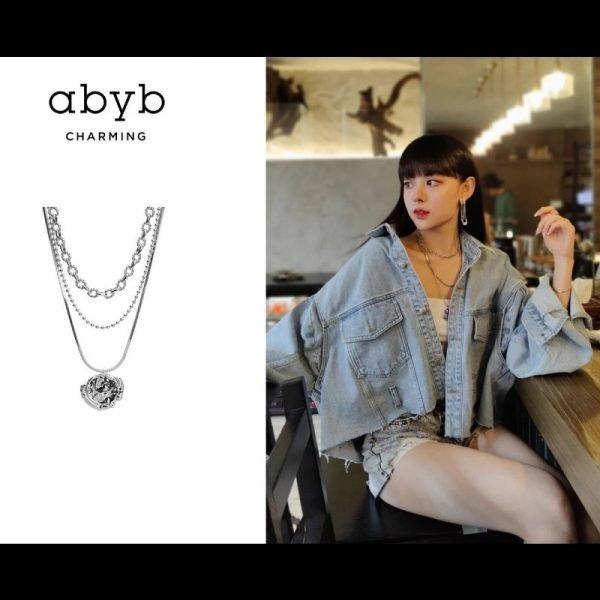 Abyb Three Layer Necklace V1