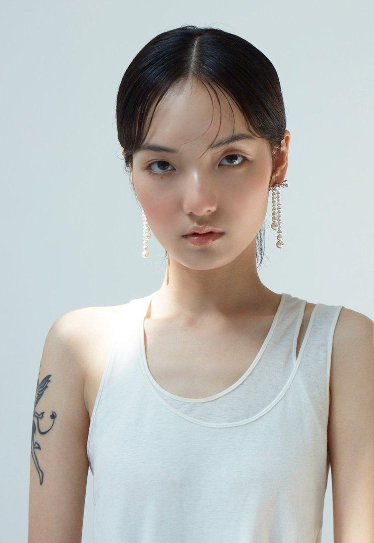 Artificial Pearl Earrings V1