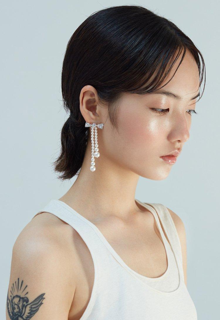 Artificial Pearl Earrings V3