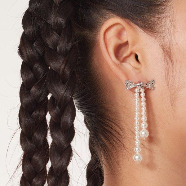 Artificial Pearl Earrings V5