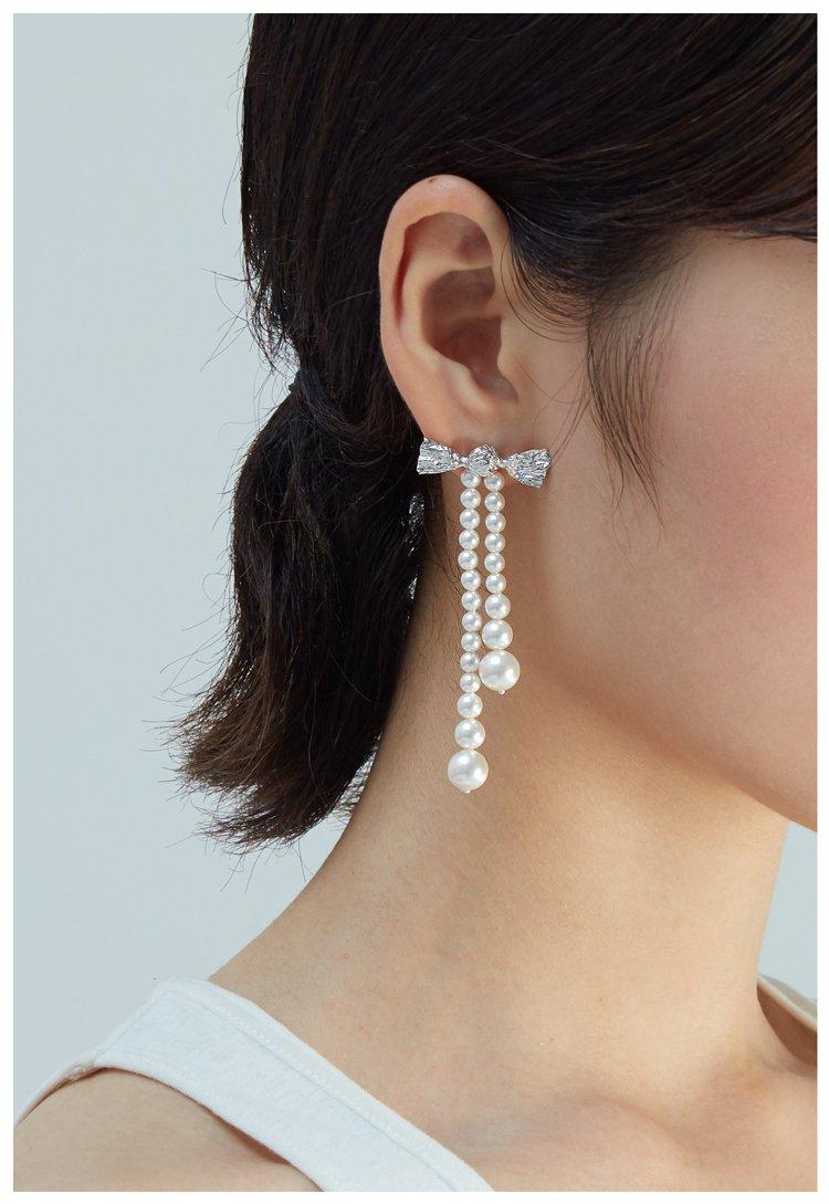 Artificial Pearl Earrings V7