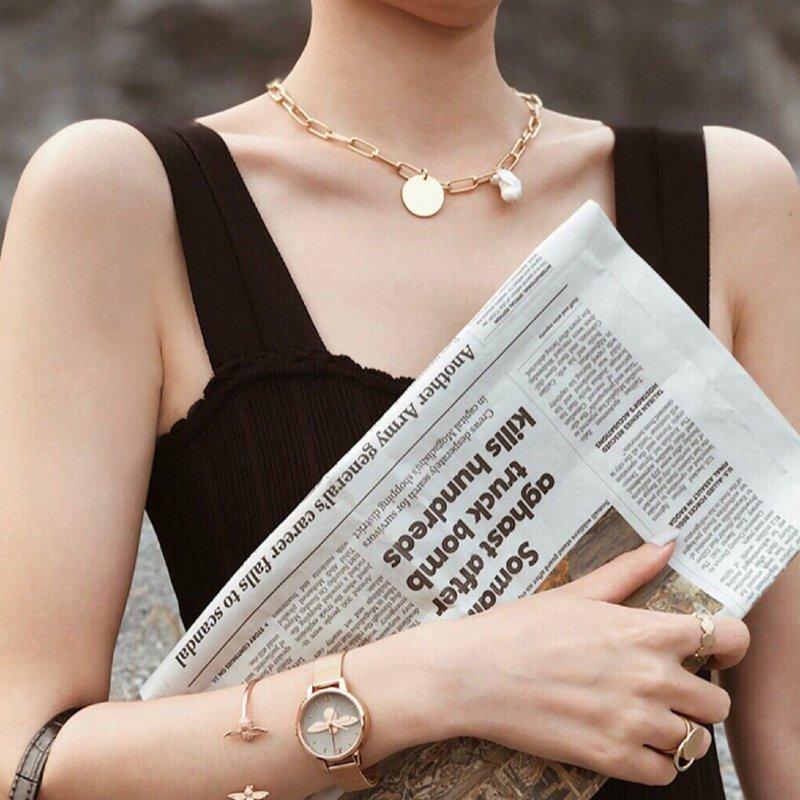 Baroque Pearl Necklace V10