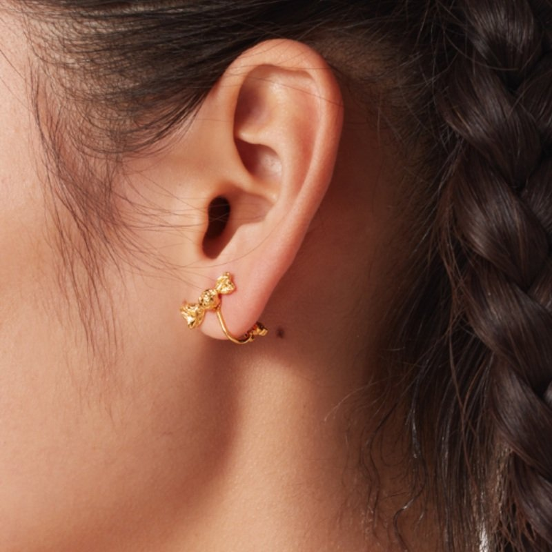 Candy Wrap Earrings V1