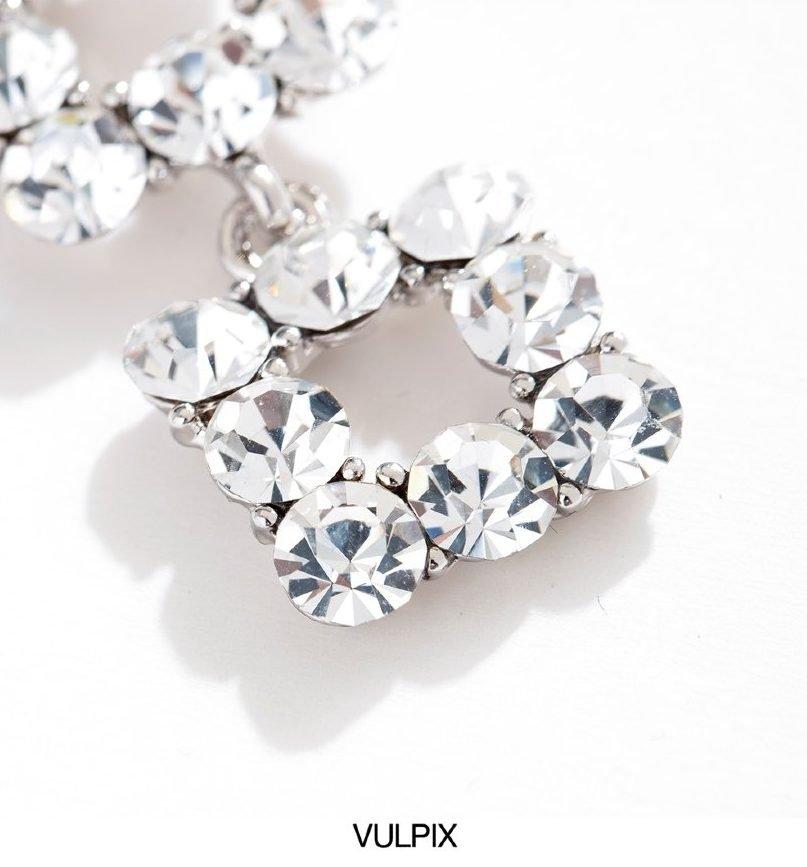 Flash Diamond Long Earrings V2