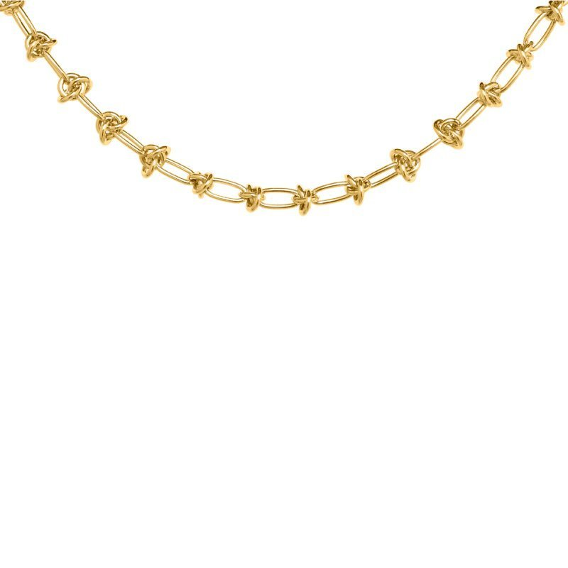 Gold Chain Necklace V7