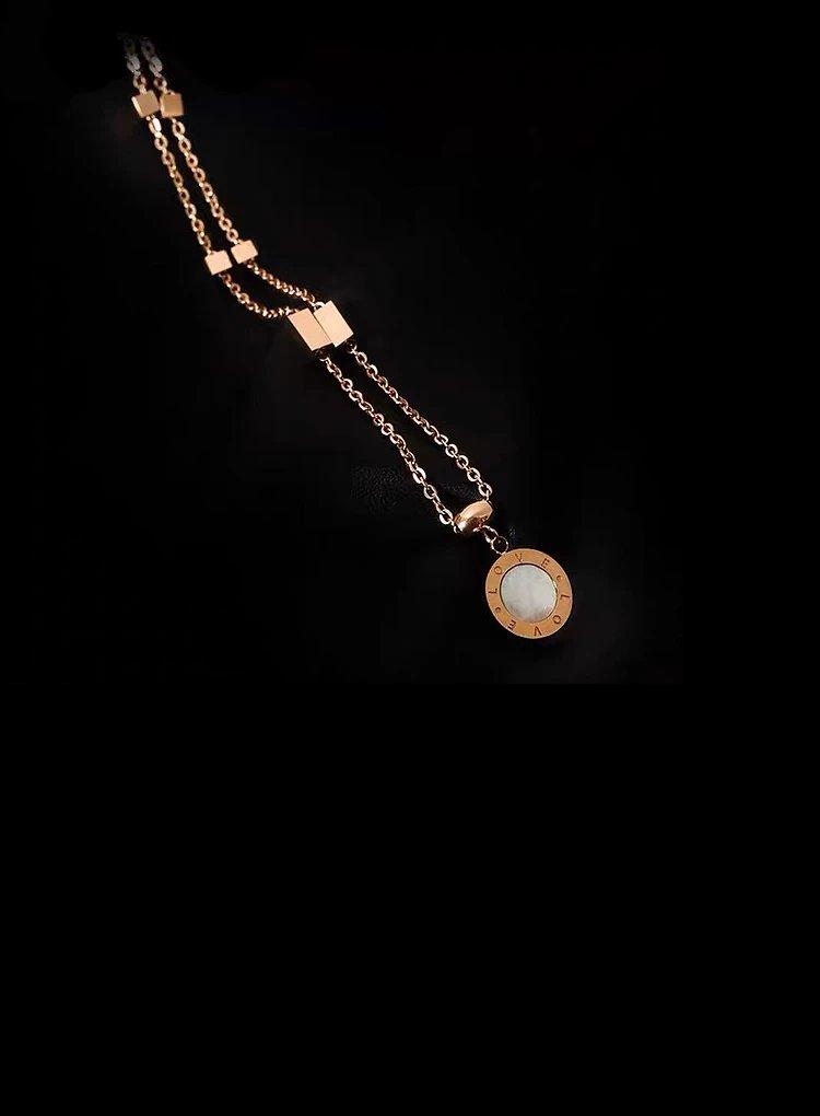 K2o Love Clavicle Necklace V6