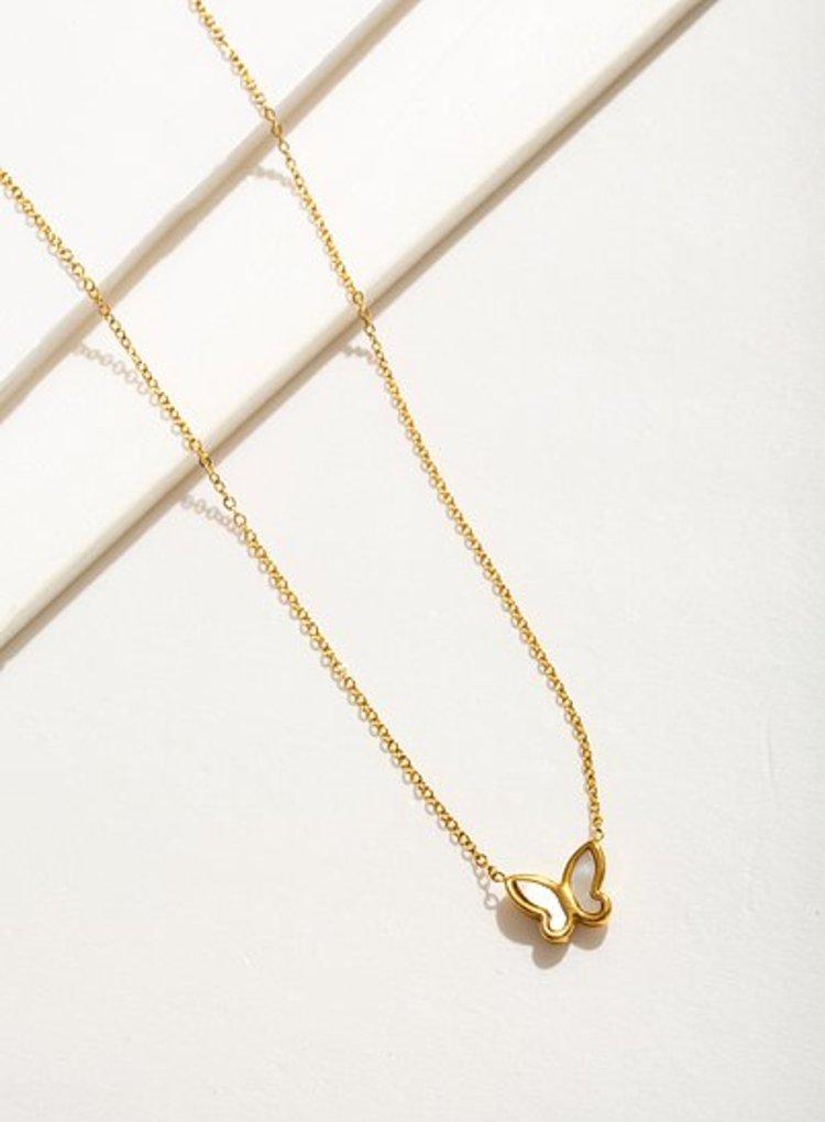 K2o Simple Butterfly Necklace V11