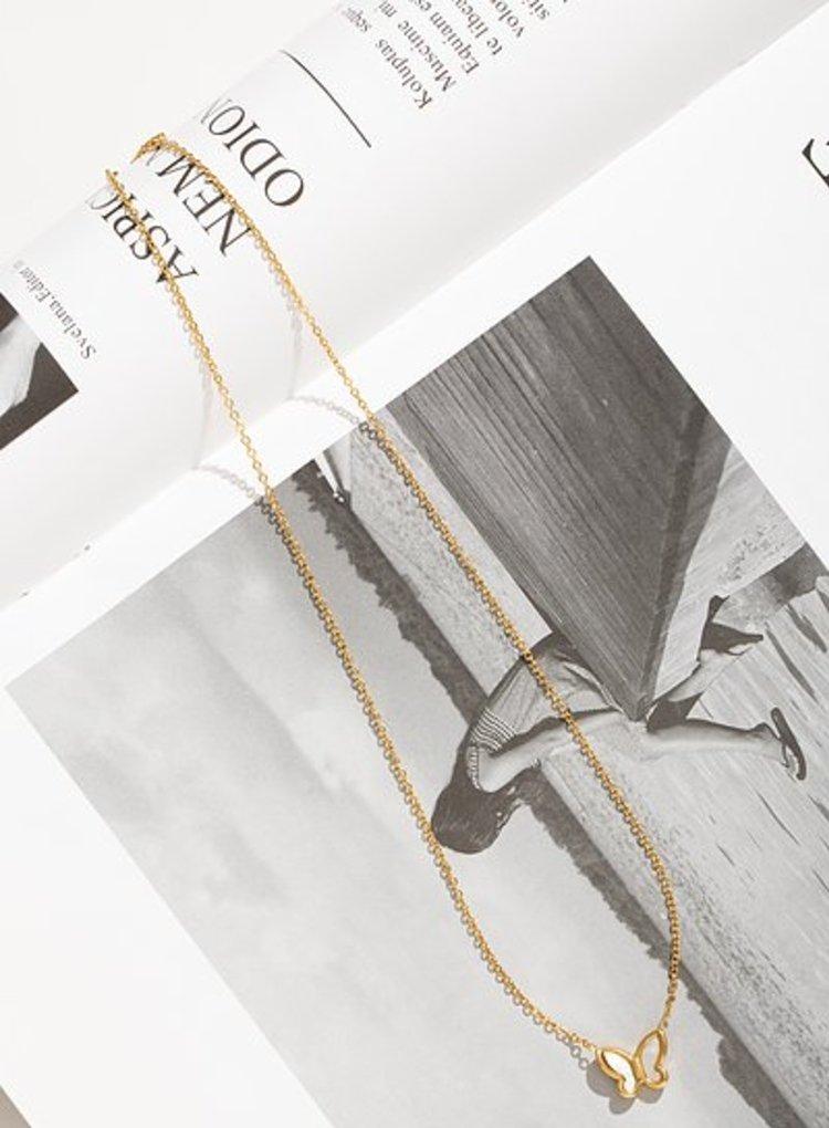 K2o Simple Butterfly Necklace V12