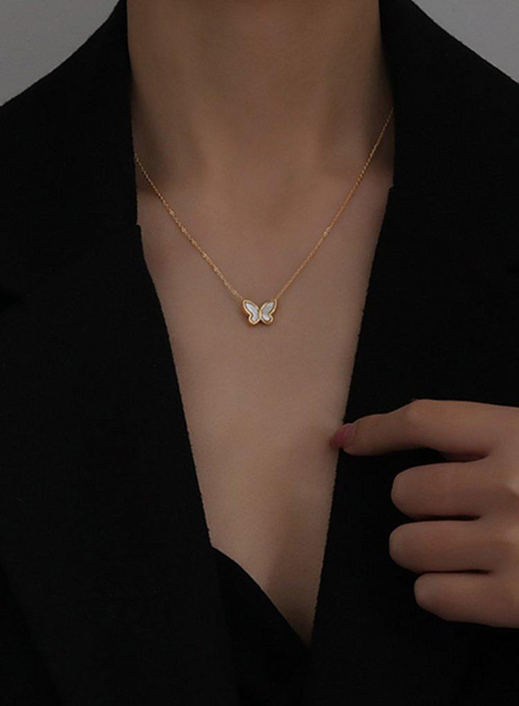 K2o Simple Butterfly Necklace V3