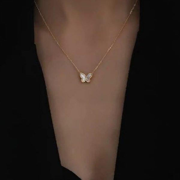 K2o Simple Butterfly Necklace V4
