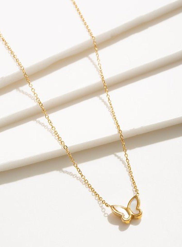 K2o Simple Butterfly Necklace V8