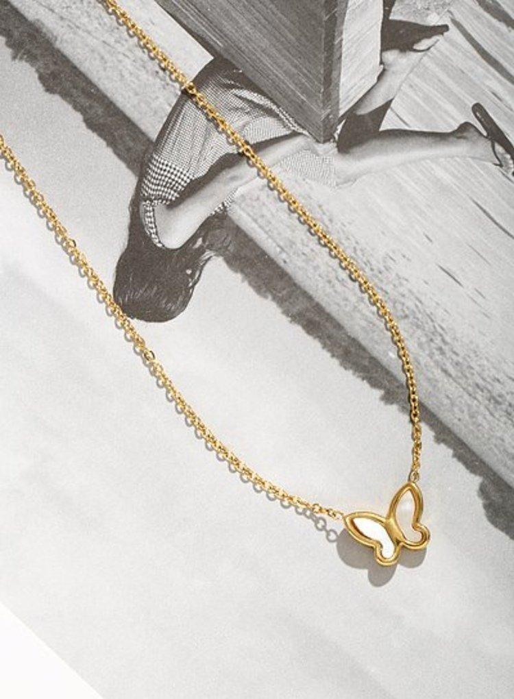 K2o Simple Butterfly Necklace V9