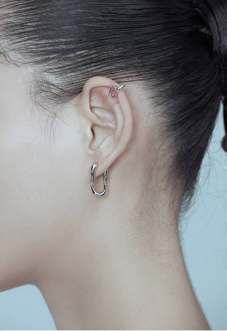 Kvk Cold Wind Needle Earring 06