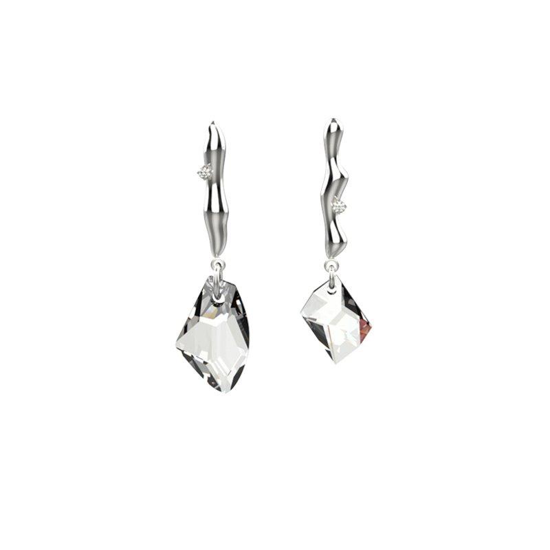 Kvk Dashing Crystal Earrings V3