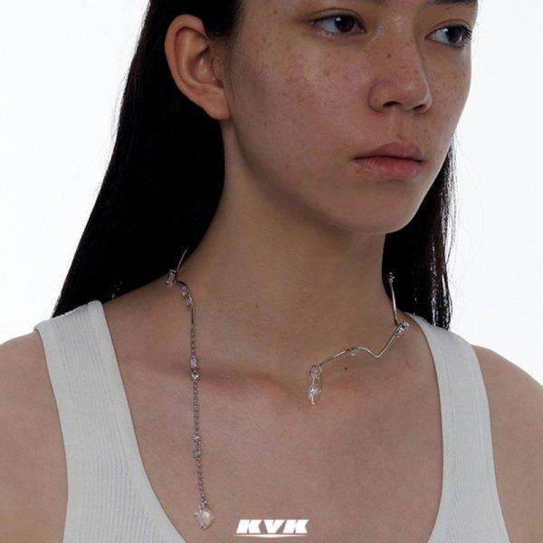 Kvk High Tide Collarbone Necklace V4