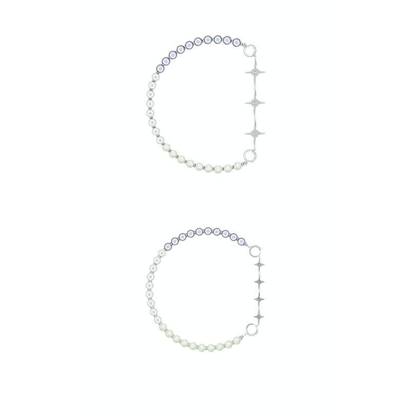 Kvk Stitch Orb Clavicle Necklace V4