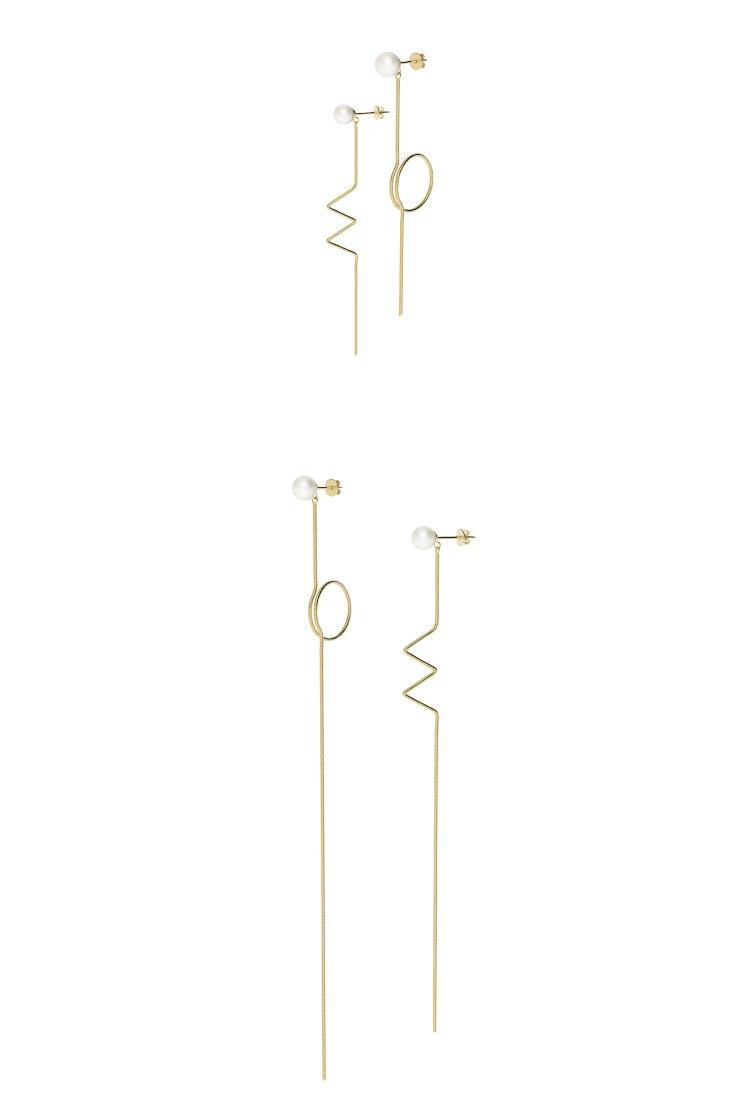 Yvmin Asymmetric Ear Line V9