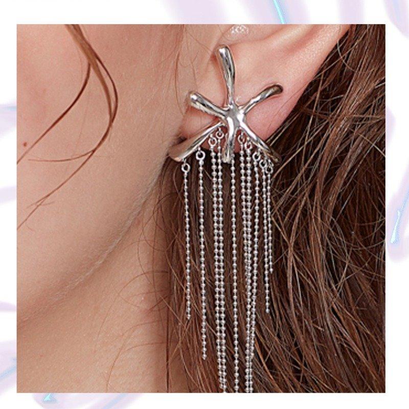 Yvmin Fringe Earrings V4