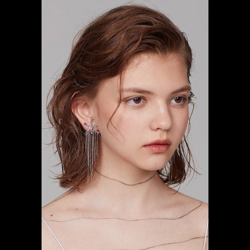Yvmin Fringe Earrings V6
