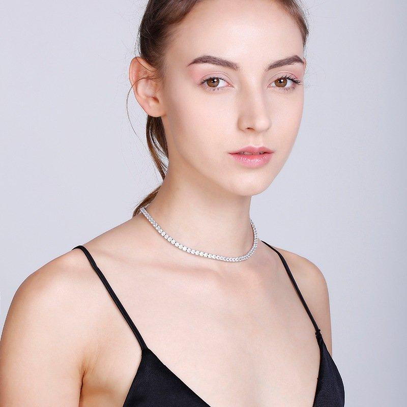 Abyb Diamond Collarbone Chain V1