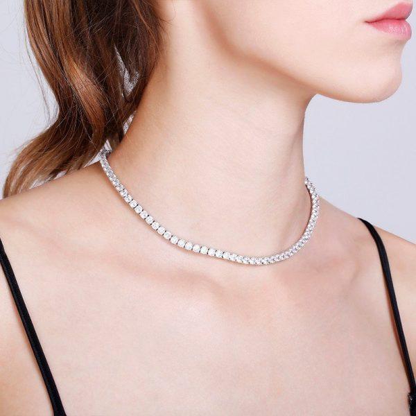 Abyb Diamond Collarbone Chain V2