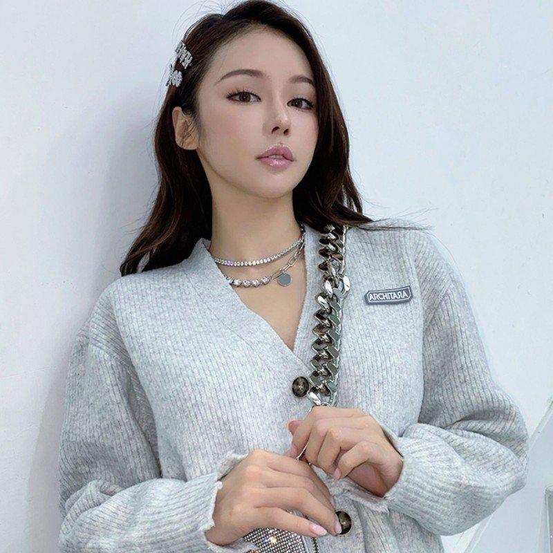 Abyb Diamond Collarbone Chain V3