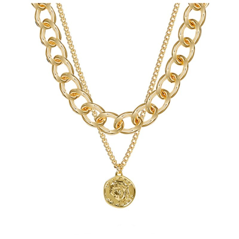 Abyb Gold Chain Choker V1