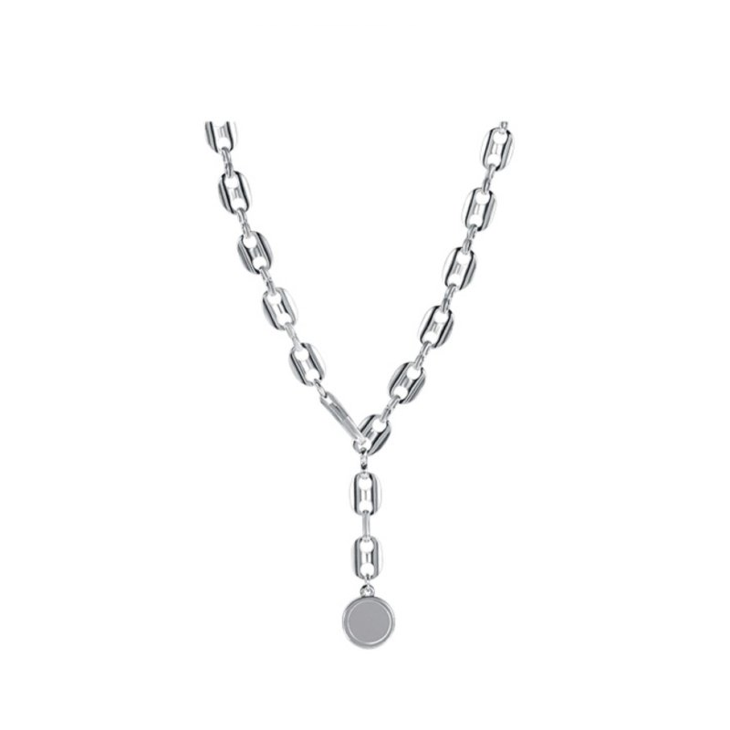 Abyb Silver Circle Chain V2