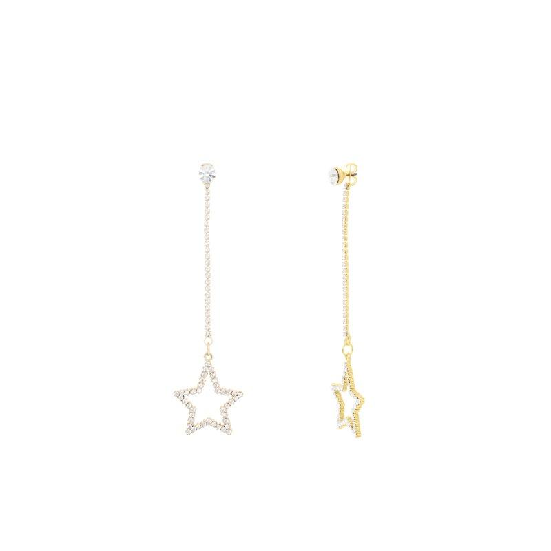 Abyb Star Meteorite Earrings V2