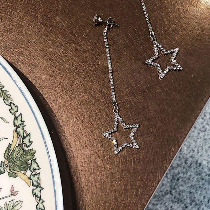 Abyb Star Meteorite Earrings V3