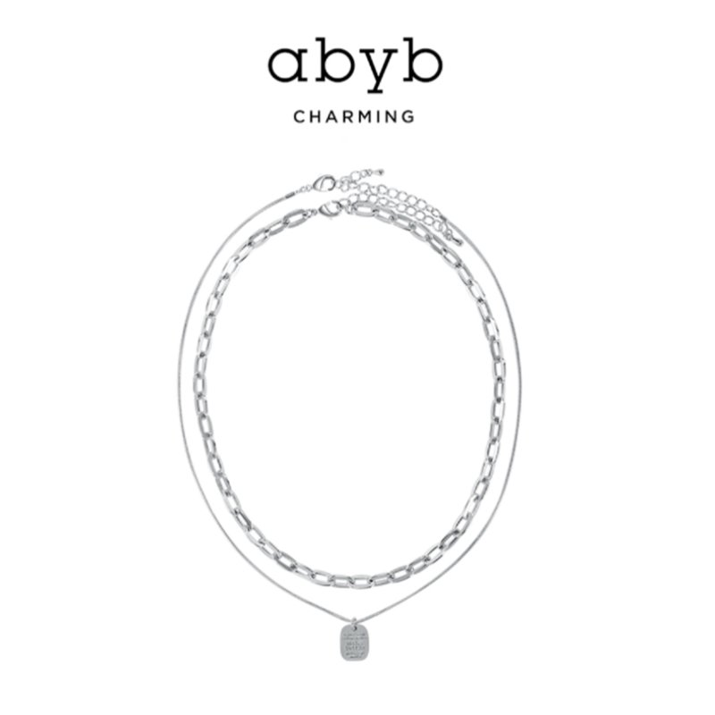 Abyb To You Love Letter Necklace V7