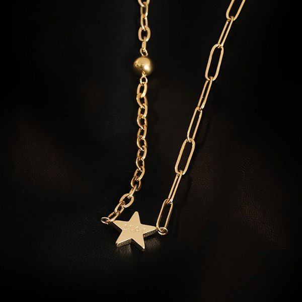 K20 Simple Long Clavicle Necklace