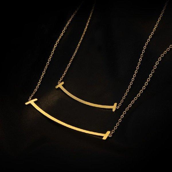 K20 T- Smile Necklace