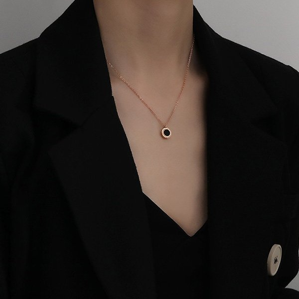 K20 Black Brand Roman Necklaces
