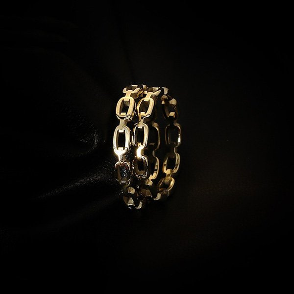 K20 Personality Chain Rings