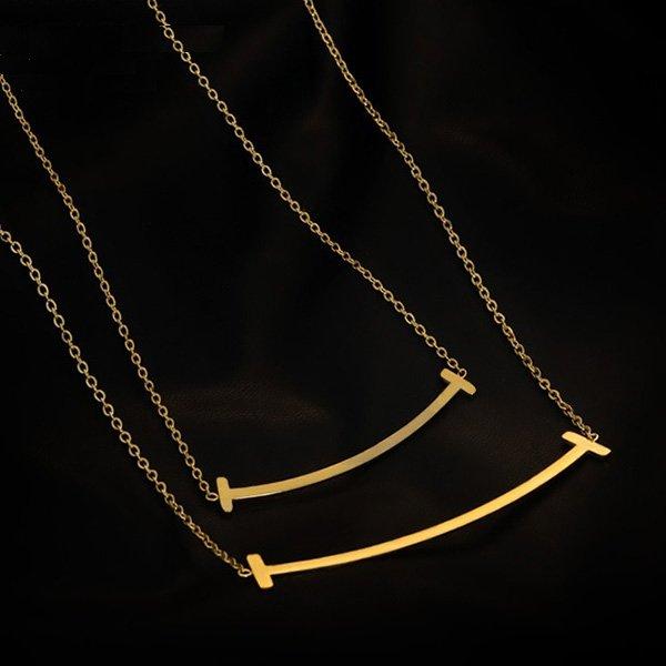 K20 T-smile Smile Necklace