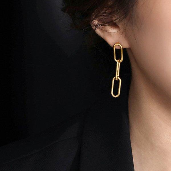 K20 Hip Hop Chain Earrings