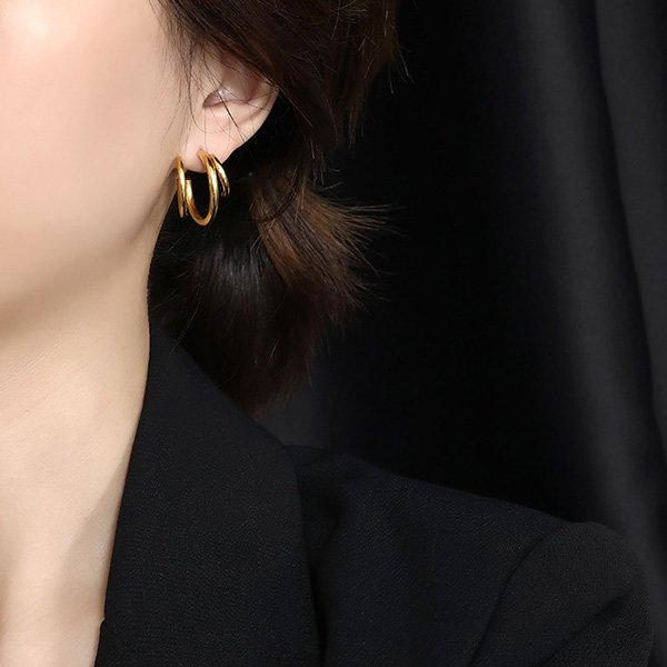 K20 Temperament Multi-layer Earrings
