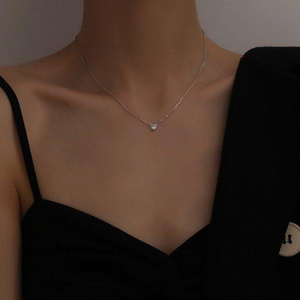 K20 Color Gold Diamond Necklace