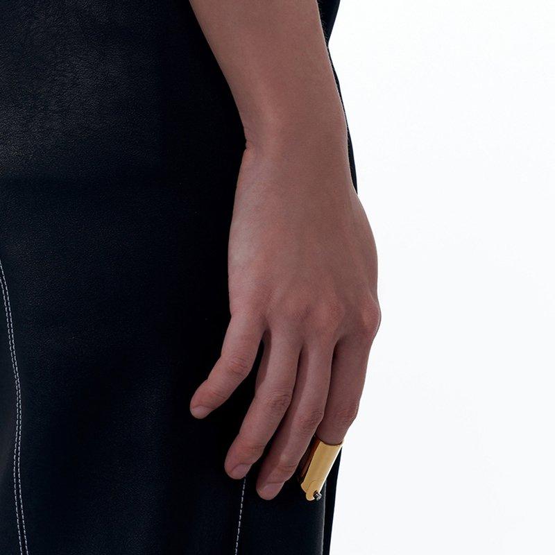 KVK Minority Cover Tail Ring