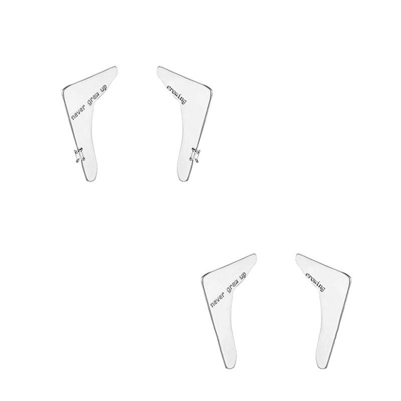 KVK Cold Wind Stud Earrings