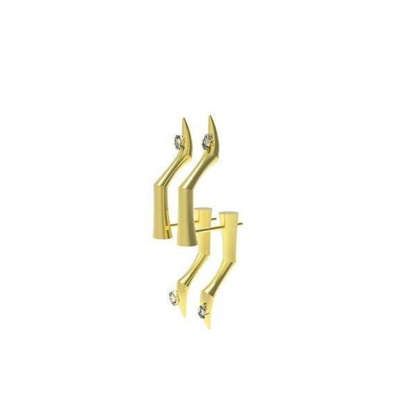 KVK Simple Cold Wind Earrings