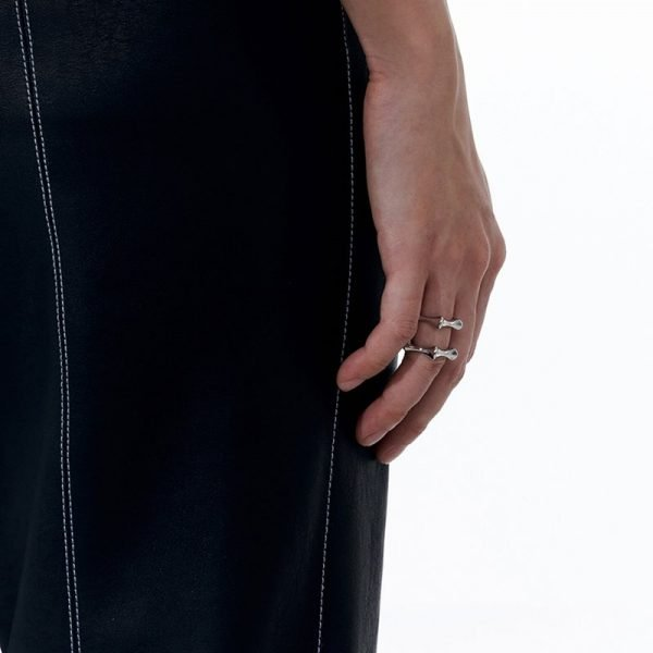 KVK Geometric Open Ring