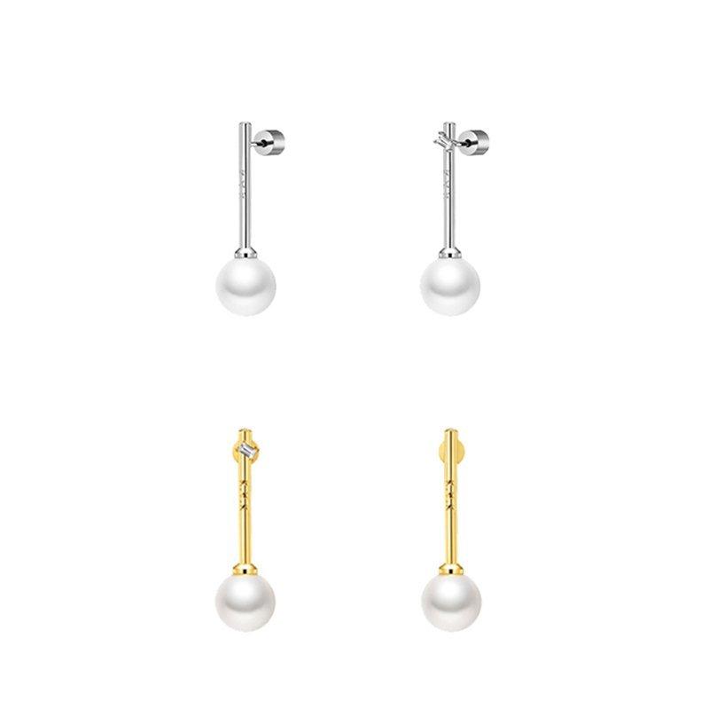 KVK Pearl Earrings