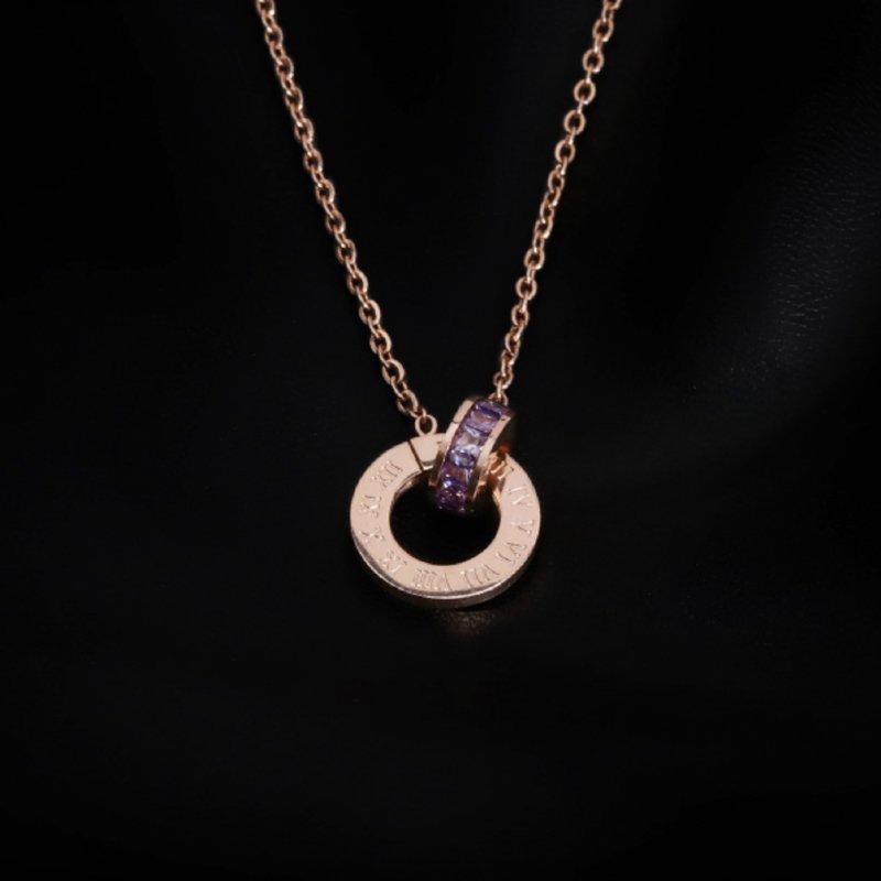 K2o Roman Numerals Necklace