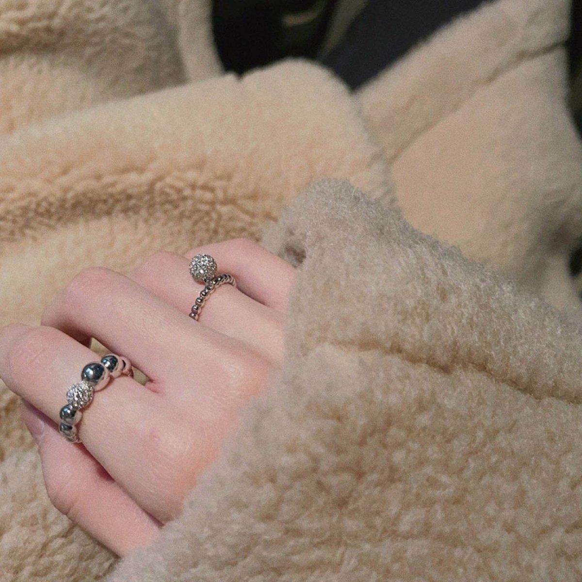 Abyb Snow Ball Ring